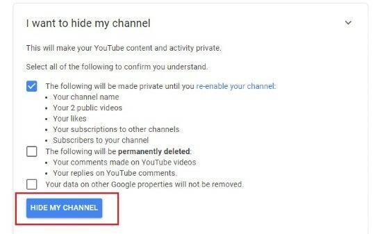 Bagaimana Cara Menghapus Channel Youtube 27343