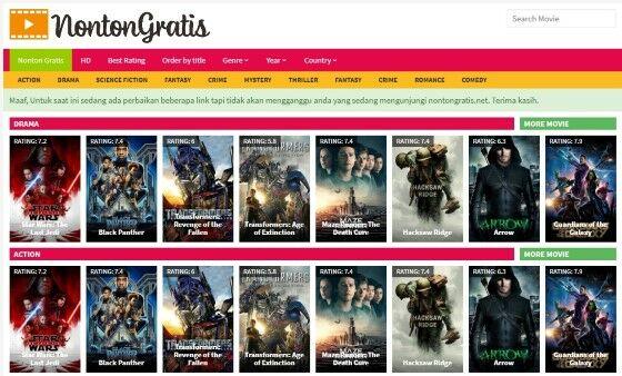 Nonton Film Gratis Sub Indonesia