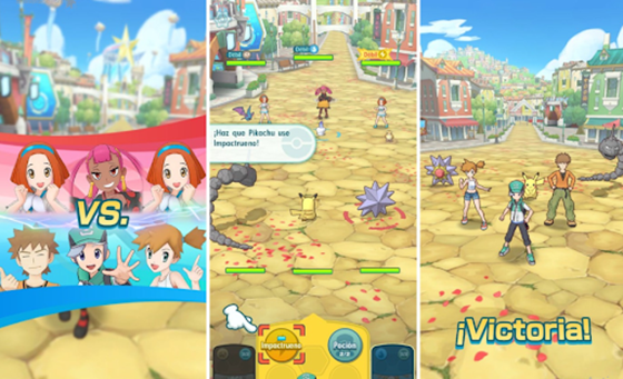 Game Online Terbaru Android Pokemon Masters 3007c