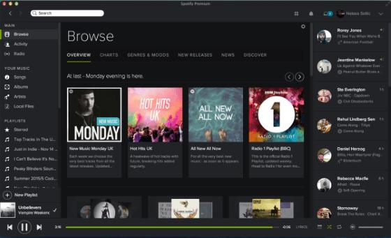 Spotify Desktop Ec8c2