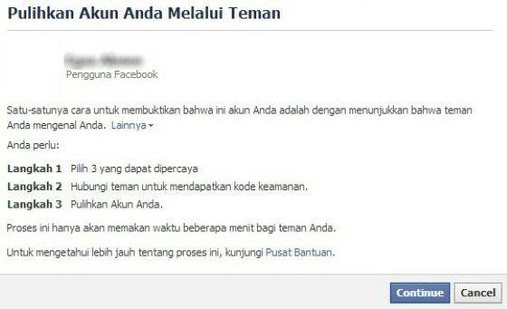 Tidak Bisa Akses Akun Facebook 74608