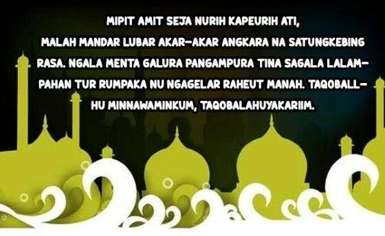 Ucapan Idul Fitri Bahasa Sunda B224d