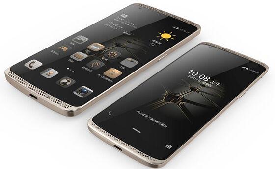 smartphone android dengan pressure screen zte axon mini premium