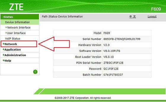 Cara Ganti Password IndiHome Zte F609 301ff
