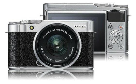 Kamera Mirrorless 1 Juta FUJIFILM X A20 6192c