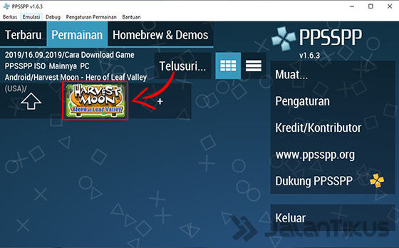 Cara Download Game Ppsspp Iso Mainnya Pc Android