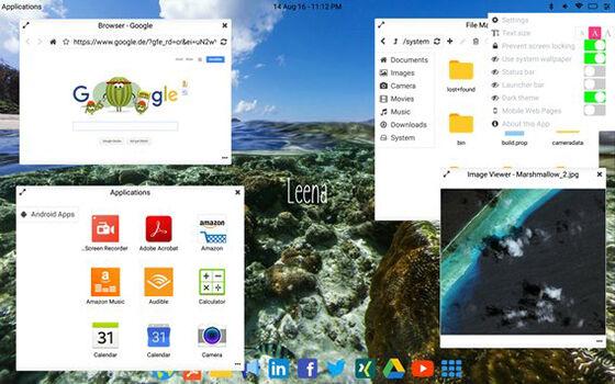 membuat tampilan android jadi macbook