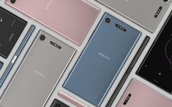 Smartphone Dengan Prosesor Tercepat 2017 Sony Xperia Xz1