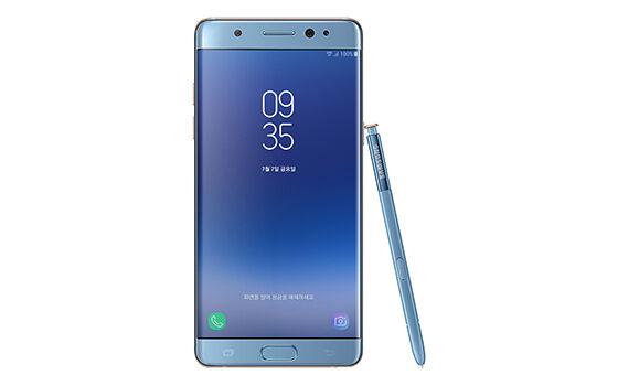 Samsung Galaxy Note Fe Smartphone Android Terbaru November 2017