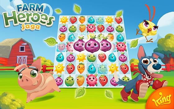 Farm Heroes Saga Game Berkebun Terbaik