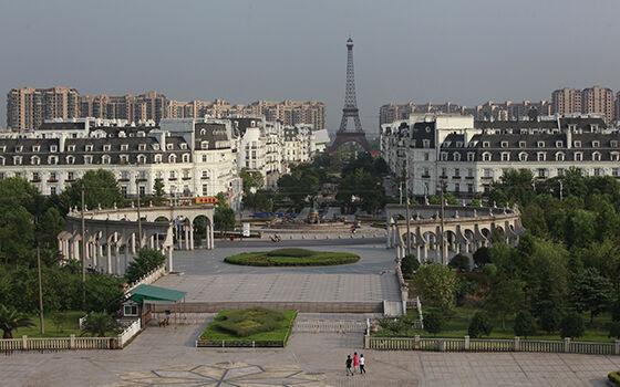 Tianducheng Kota Hantu Paling Besar Di Dunia