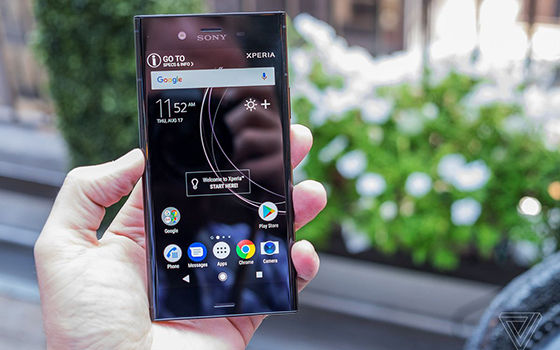 Xperia Xz1 Smartphone Android Gagal 2017