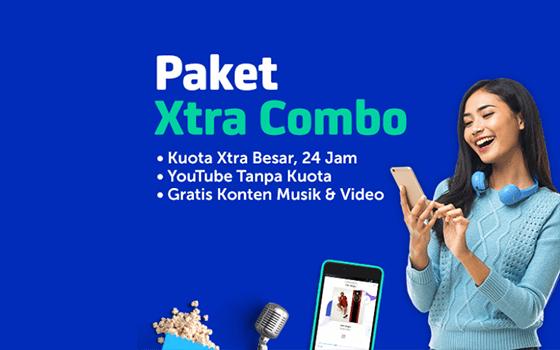 Paket Internet XL Xtra Combo
