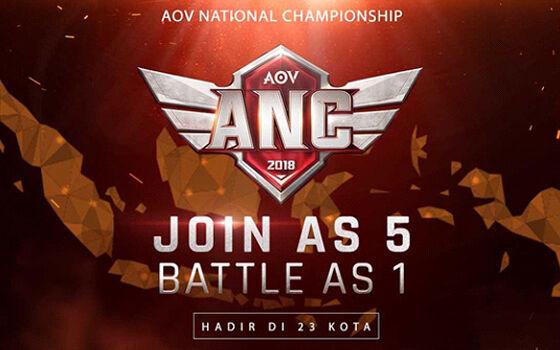 Anc Garena Arena Of Valor Indonesia 2018