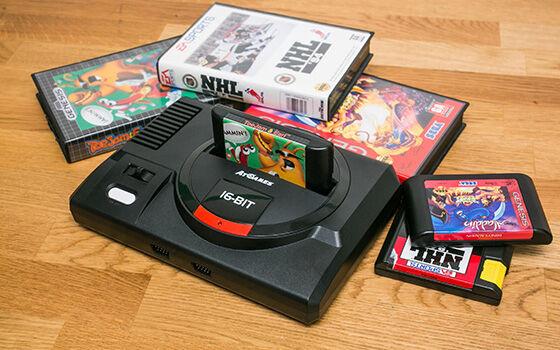 Konsol Game Generasi 90an Mega Drive Ea334