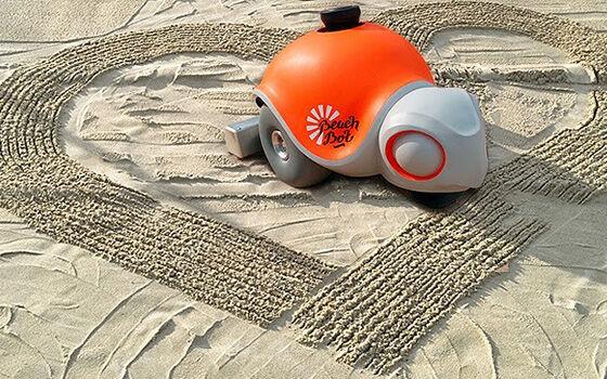 Robot Mirip Hewan Beachbot 404eb