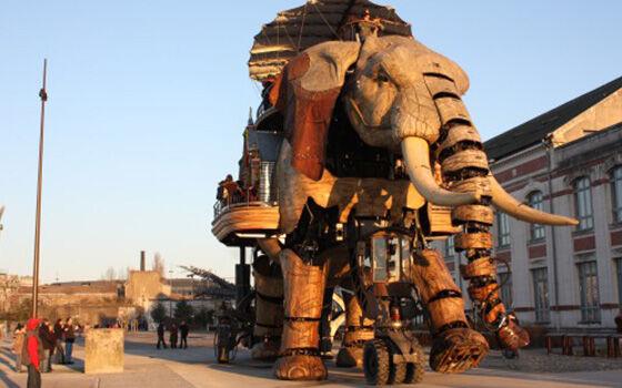 Robot Mirip Hewan Great Elephant 49b63