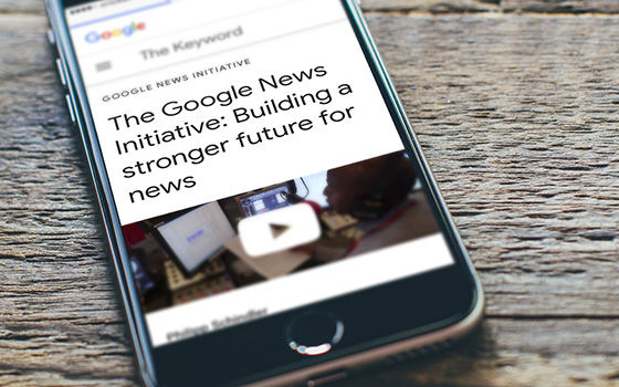 Google News Initiative Program A2477