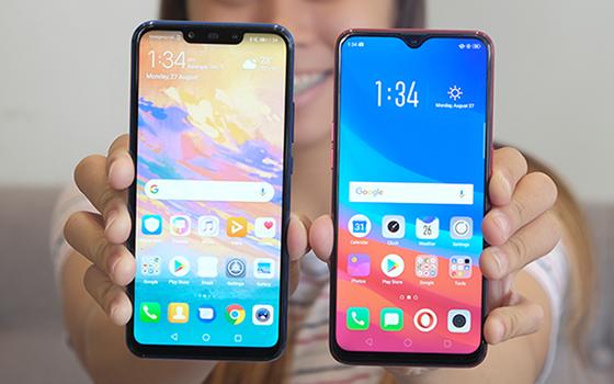 Perbandingan Huawei Nova 3i Vs Oppo F9 01 7f3d0