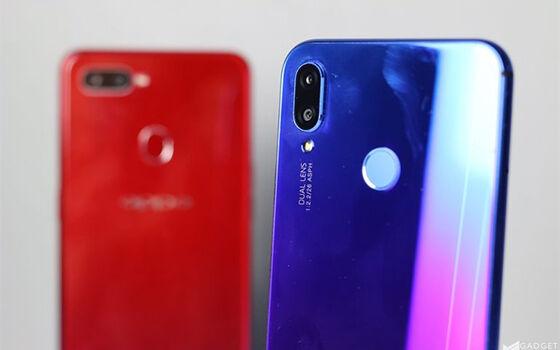 Perbandingan Huawei Nova 3i Vs Oppo F9 02 4168e