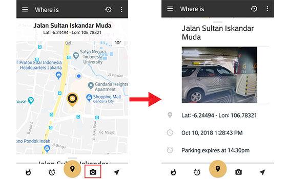 Cara Menemukan Lokasi Parkir Kendaraan Pakai Smartphone 2 8c264