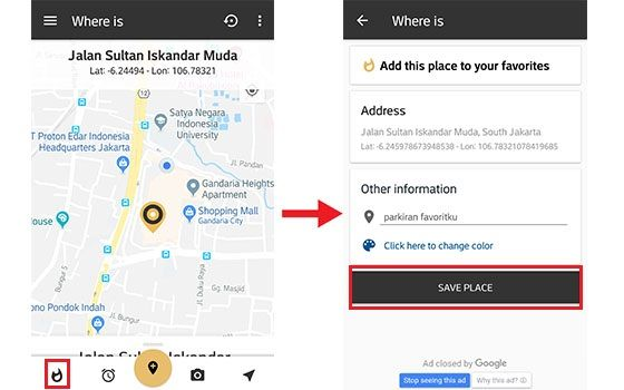Cara Menemukan Lokasi Parkir Kendaraan Pakai Smartphone 5 Cab21
