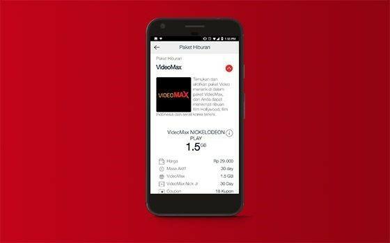 Cara Mengaktifkan Kuota Videomax Telkomsel Mytelkomsel 602ce