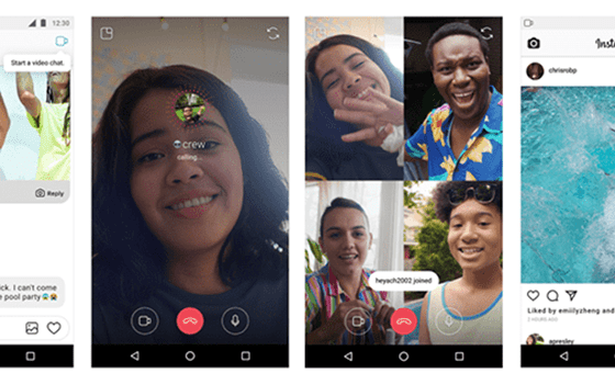Aplikasi Video Call Instagram