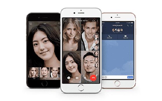 Aplikasi Video Call Line F08ad