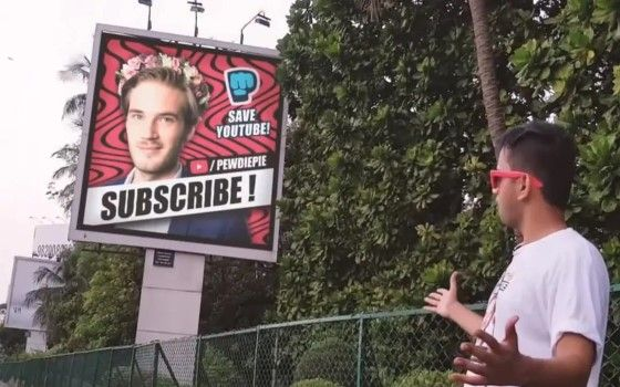 Subscribe To Pewdiepie 2 Bd354