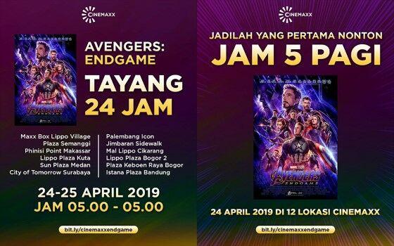 Kejadian Penonton Avengers Cinemaxx 78947