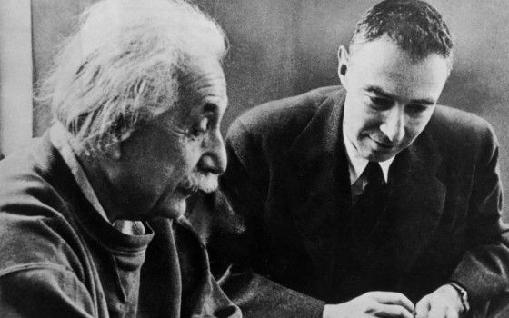 Alfred Einstein Dan J Robert Oppenheimer 51771