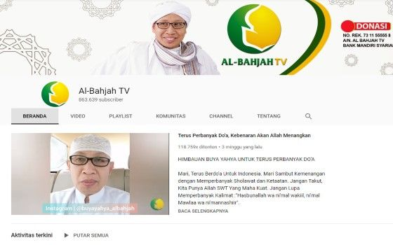 Channel Youtube Islami 6 1a6fa
