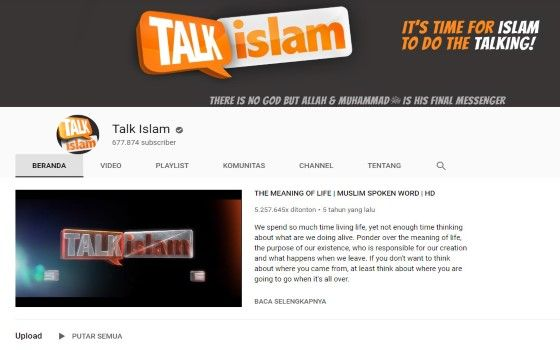 Channel Youtube Islami 7 7ab1e
