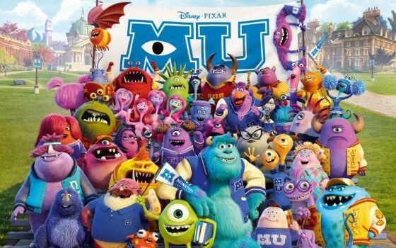 Illuminati Film Monster University 7b8f0