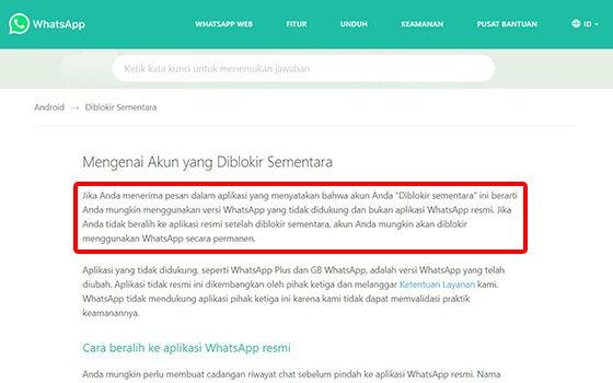 Whatsapp Mod Diblokir 1efba