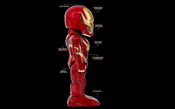 Robot Iron Man 2 Abcad