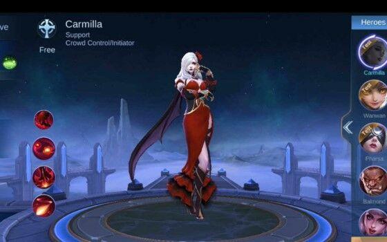 Carmilla Mobile Legends E Df06a