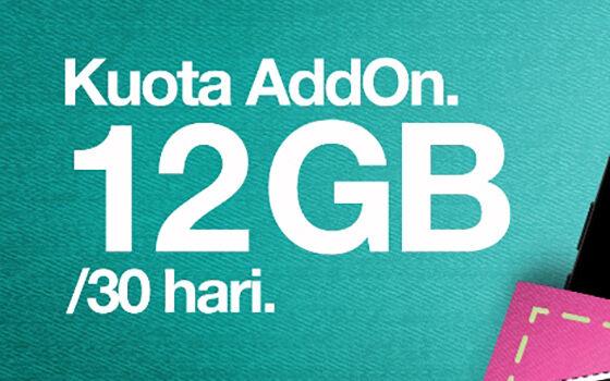 Paket Internet Tri Kuota Addon 9c9be