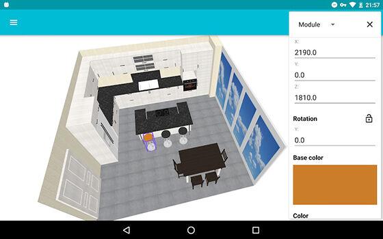 Aplikasi Desain Rumah Android Kitchen Planner 3d 43a50
