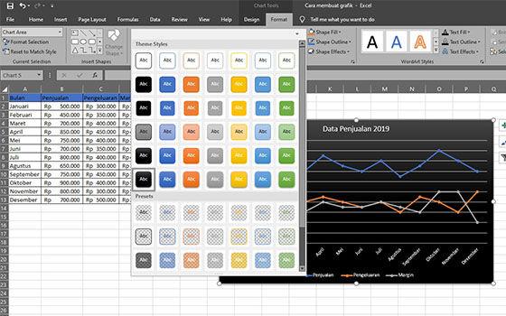 Cara Membuat Grafik Di Excel 2010 5 58fe0