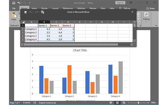 Cara Membuat Grafik Di Ms Word 3 E8085
