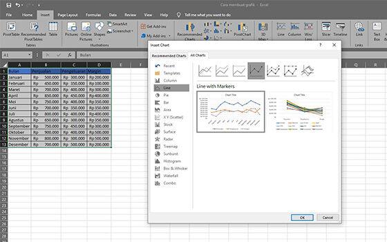 Membuat Grafik Di Excel 2010 2 9dc3c