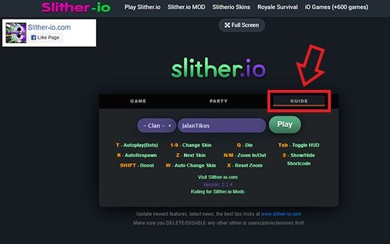 Cheat Game Slither Io 17770