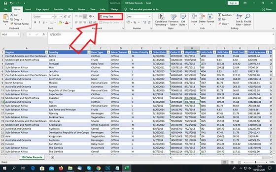 Cara Print Excel Agar Full Kertas A4 62bcc