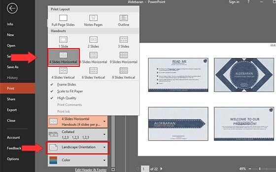 Cara Print Slide Power Point Penuh 004 Fdb85