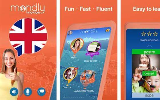 Aplikasi Belajar Bahasa Inggris Gratis Mondly Cf763