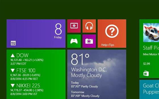 Cara Mengganti Wallpaper Windows 8 C834a
