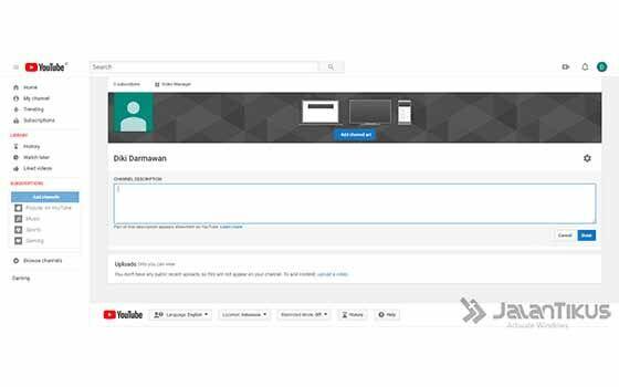 Cara Bikin Konten Youtube Lewat Hp 08 60357