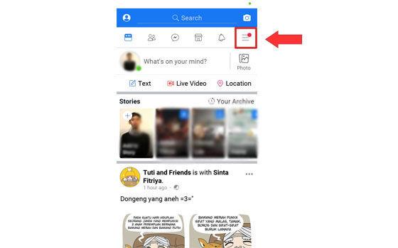 Cara Mengaktifkan Dark Mode Facebook 01 Ef8e4